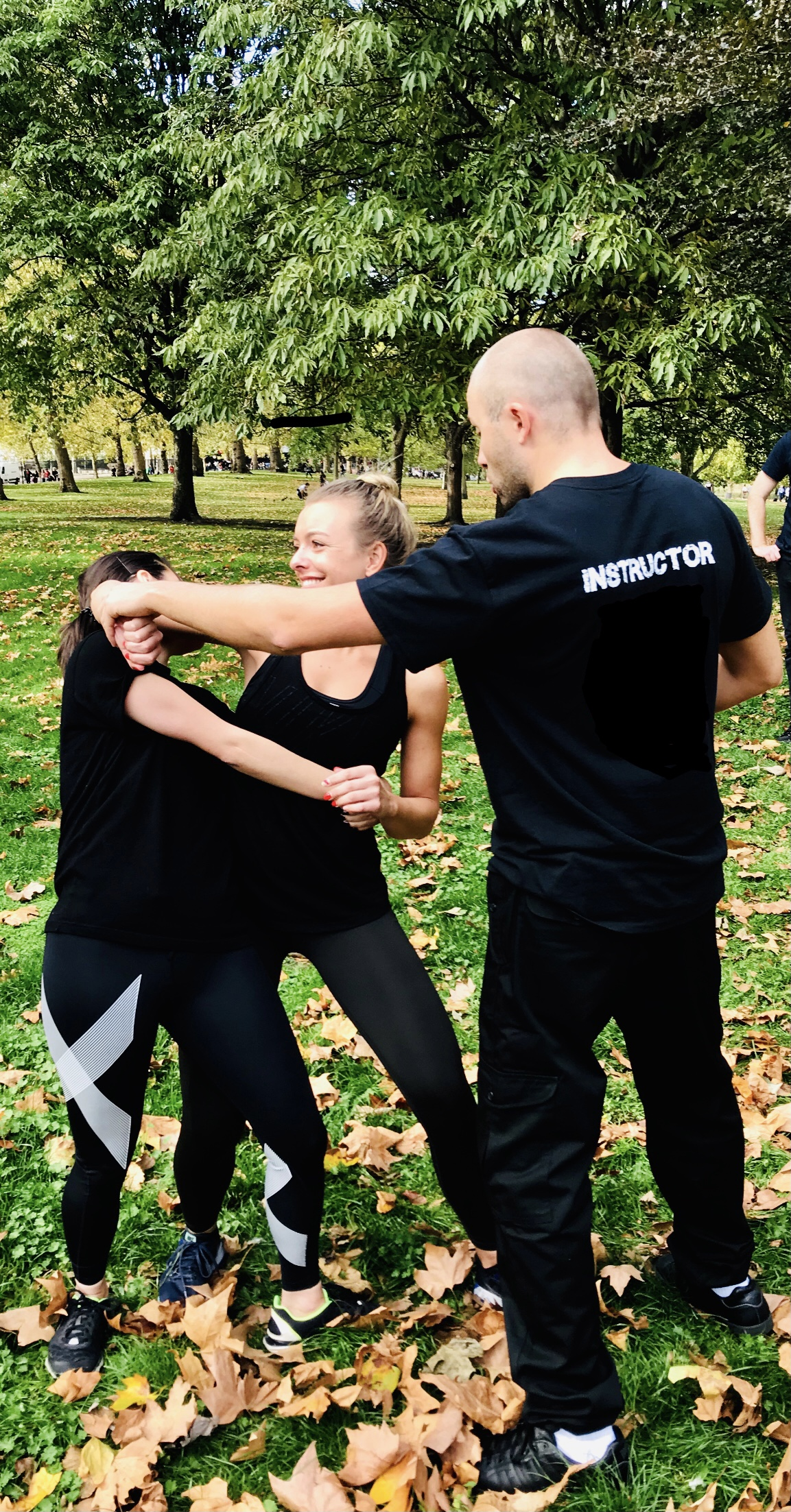 One to one self-defence class